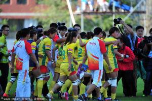 全运女子橄榄球决赛惊人一幕北京罢赛0-71告负