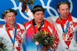 图文-雅典奥运(28届)中国金牌榜 王义夫老当益壮