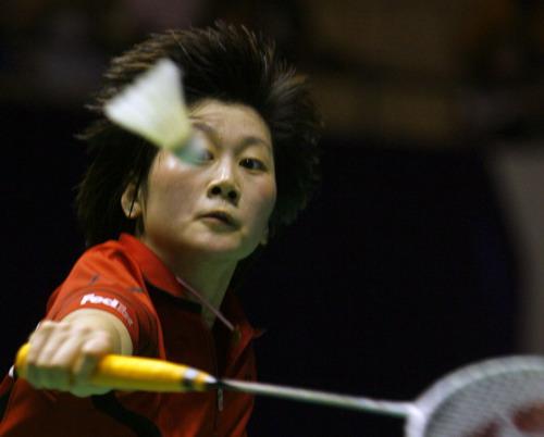 图文-中羽赛女单第二轮战况新科世锦赛冠军朱琳