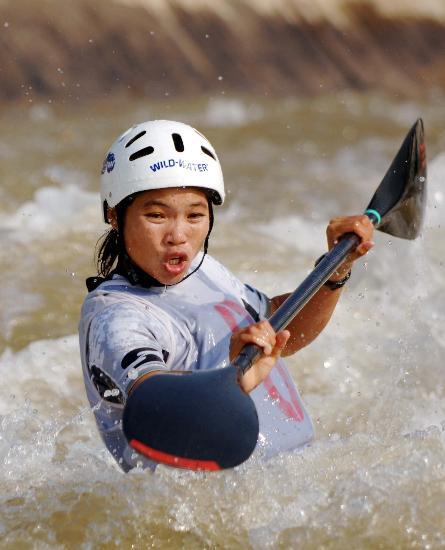 图文-皮划艇全国激流回旋秋季冠军赛 贵州岑南琴