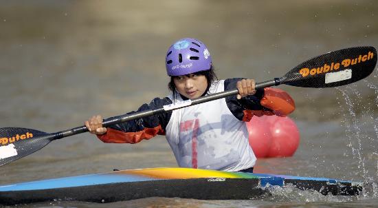 全国-图文皮划艇秋季冠军赛广东女子选手滕千千摩托艇游戏三代图片