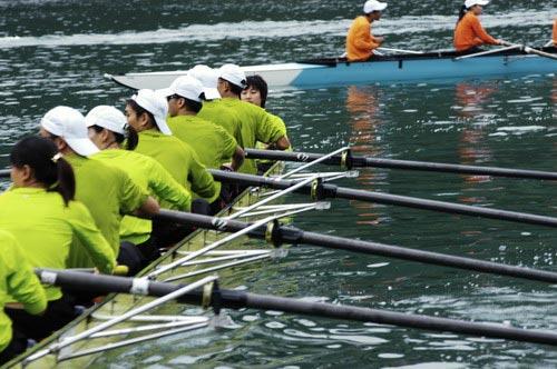 图文-奥运舵手总决赛第一集刘廷婷团队更胜一筹