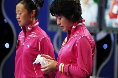 图文-奥运舵手总决赛第一集刘廷婷离别感言用心