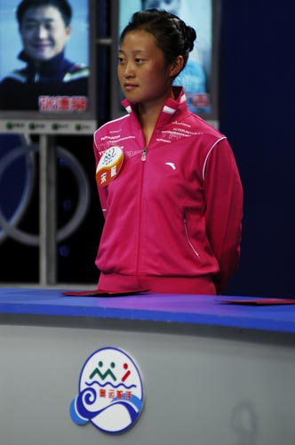 图文-奥运舵手总决赛第一集宋敏坦然面对PK赛