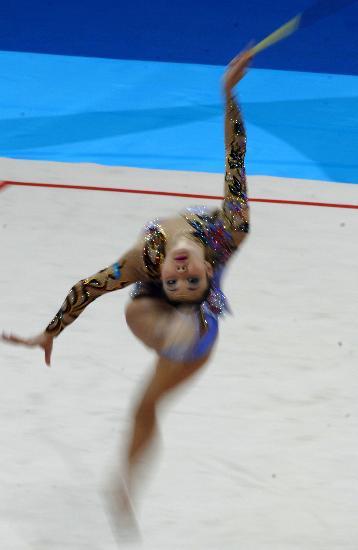 图文-艺术体操个人全能资格赛尤苏波娃灵动四方