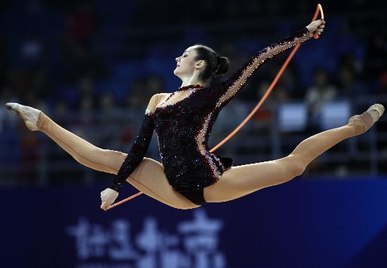 图文-好运北京艺术体操国际邀请赛 贝索诺娃不容小视