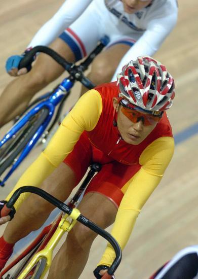 图文-自行车世界杯精彩赛况李燕欲用表现证明自己