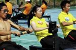 图文-奥运舵手总决赛第二集 潘潘巾帼不让须眉