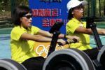 图文-奥运舵手总决赛第二集 次仁吉已经筋疲力尽