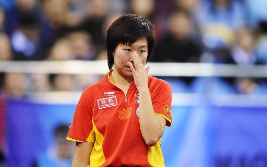 图文-国际乒联总决赛女单决赛这个球不该如此处理