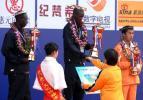 图文-2008厦门国际马拉松战报邓海洋获得季军