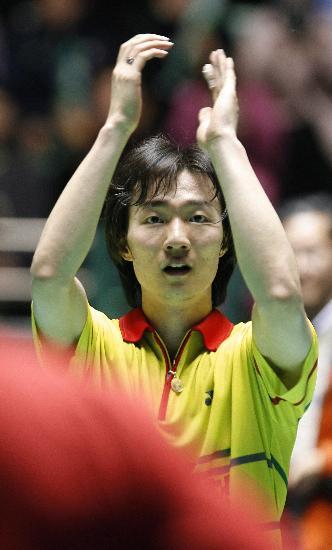 图文-李炫一夺得韩国超级赛冠军李炫一庆祝胜利