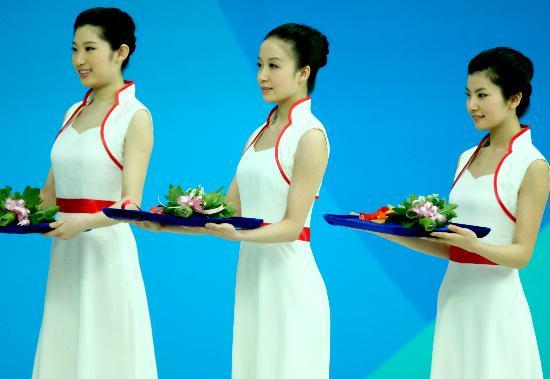 图文-游泳中国公开赛2日赛况 笑问客从何处来