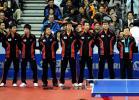 图文-世乒赛中韩男团巅峰对决韩国队全家福