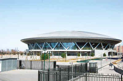 图文-北京建筑的新地标--奥运之光 老山自行车馆