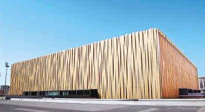 图文-北京建筑的新地标--奥运之光五棵松篮球馆