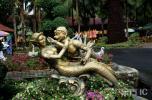图文-北京奥运火炬传递之曼谷 曼谷植物园风景