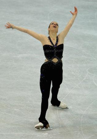 图文-世界花滑锦标赛女单短节目科斯特纳颇具神秘