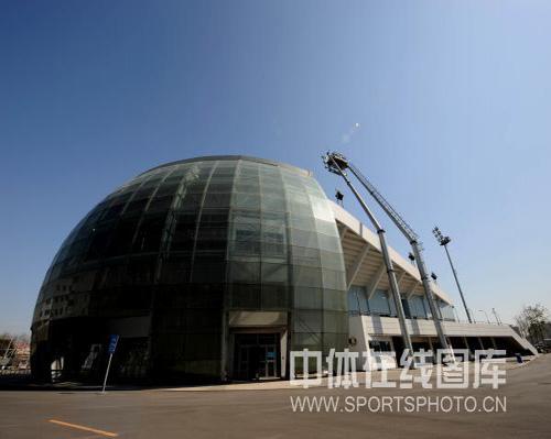 图文-奥运场馆巡礼之丰台垒球场 谁能看出是垒球场