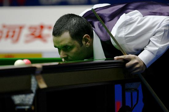 图文-斯诺克中国公开赛决赛赛况马奎尔锁定目标