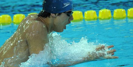 图文-全国游泳奥运选拔赛海军代表队选手赵涛