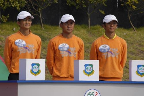 图文-奥运舵手全国四强最终产生男子组决赛选手