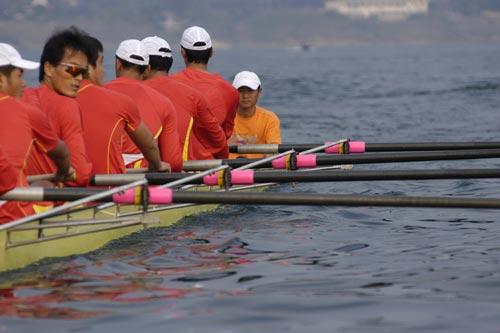 图文-奥运舵手全国四强最终产生张德常做好准备