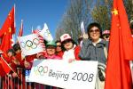 图文-北京奥运圣火在旧金山传递 准备好迎接圣火