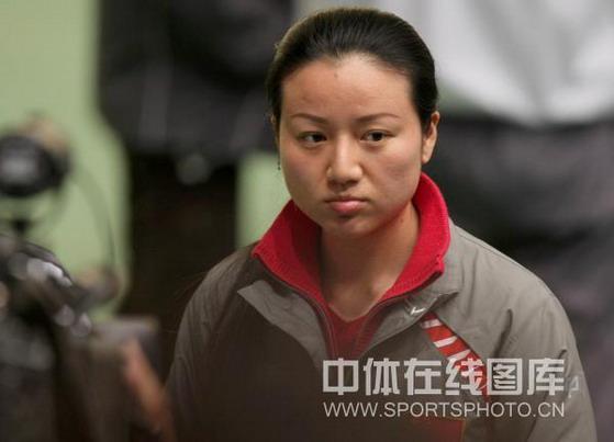 图文-射击世界杯女子10米气手枪 任洁不满发挥