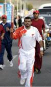图文-圣火传递活动在马斯喀特举行 传递奥运精神