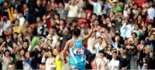 图文-好运北京男子50公里竞走赛况 见证胜利时刻