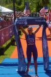 图文-美国铁人三项奥运选拔赛结束 女子冠军斯威尔