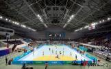 图文-北京奥运场馆巡礼 奥体中心体育馆测试赛