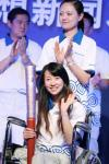 图文-境内传递三亚联想新闻发布会展露甜美笑容
