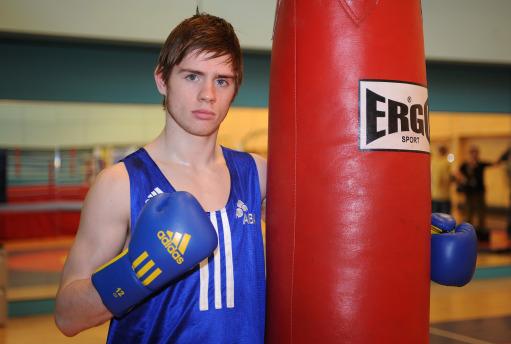 图文-英国拳击队奥运之队发布写真乔伊-穆雷