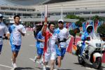 图文-北京奥运圣火在厦门传递曾国升为了梦想前进