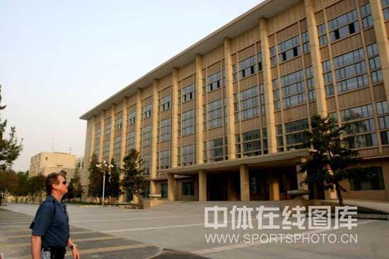 图文-北京首都体育馆巡礼 体育馆宏观外景