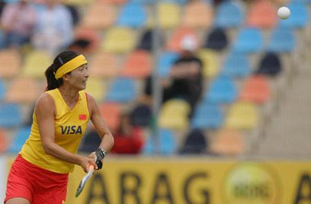 图文-女曲冠军杯赛中国0-2德国黄俊霞高瞻远瞩