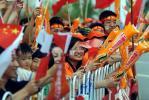图文-奥运圣火在合肥传递 合肥市民热情高涨