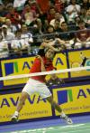 图文-新加坡羽球赛半决赛桑托索顺利挺进决赛
