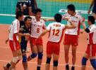 图文-世界男排联赛杭州赛区中国胜埃及 为胜利欢呼