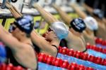 图文-美国奥运游泳选拔赛第2日 银帽考芙琳待出发