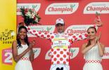 图文-环法自行车赛第七赛段结束爬坡王德拉芬特