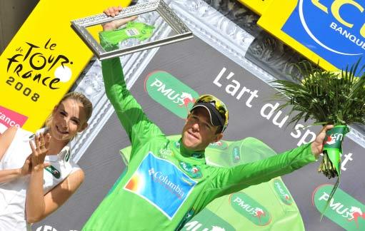 图文-环法自行车赛第9赛段赛况基尔岑穿上绿衫