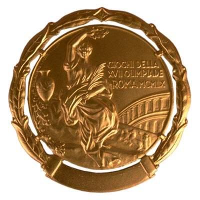 综合体育 2008北京奥运 >  其他 历届奥运会金牌一览 正文  奖牌正面