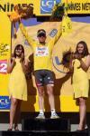 图文-环法自行车赛第13赛段结束黄衫车手依旧是他