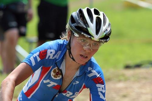 图文-奥运会女子山地车夺冠热门俄罗斯卡伦蒂耶娃