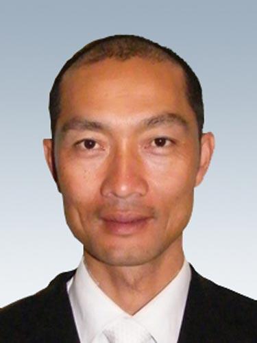 图文-北京奥运会中国代表团成立 马术队队员李振强