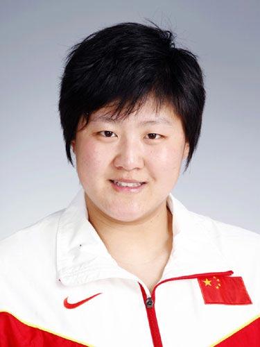 图文-北京奥运会中国代表团成立 田径队队员李玲