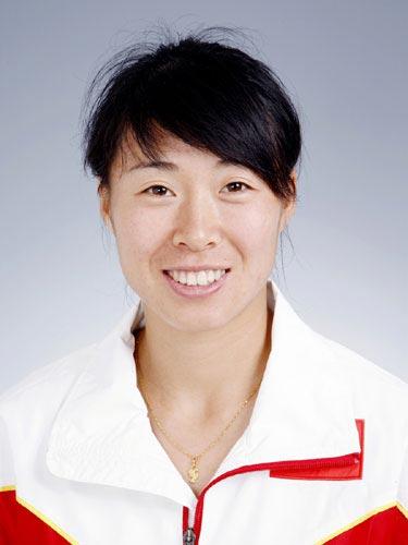 图文-北京奥运会中国代表团成立 田径队队员蒋秋艳